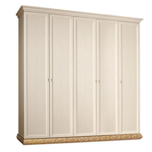 Шкаф 5-х дв. (без зеркал) для платья и белья