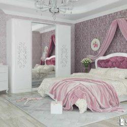 Спальный гарнитур Бланж фабрика Сильва