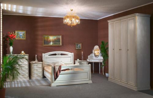 Спальный гарнитур Екатерина-8 (ДБЗ) фабрика Сомовская