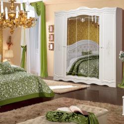 Спальный гарнитур Графиня фабрика КМК мебель
