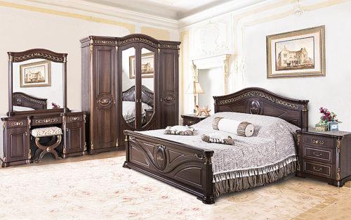 Спальный гарнитур Мадлен фабрика Арида мебель