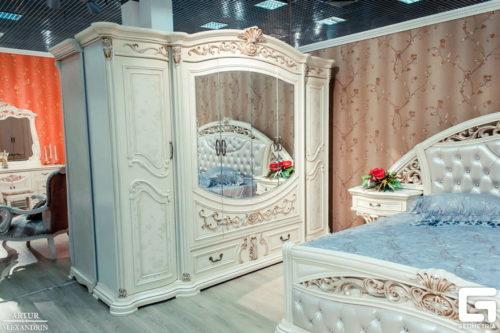 Спальный гарнитур Мадрид 8970 фабрика Евразия