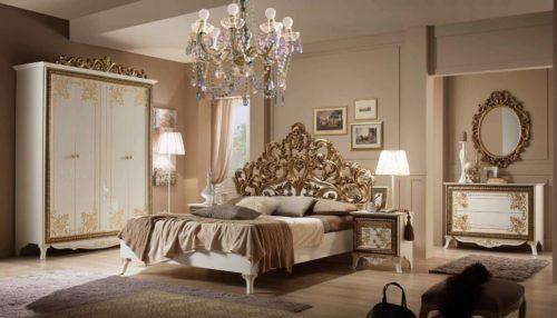 Спальный гарнитур Стефани спальня - Спальни
